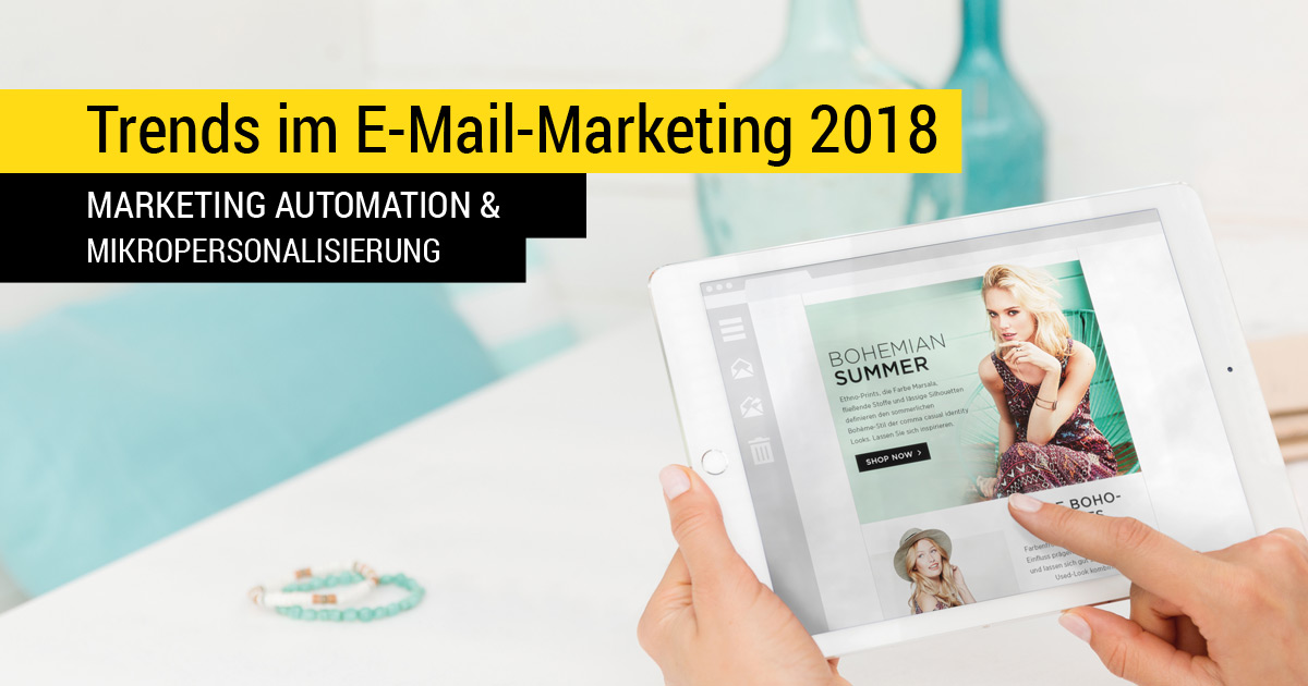 Inxmail Trends im E-Mail-Marketing 2018