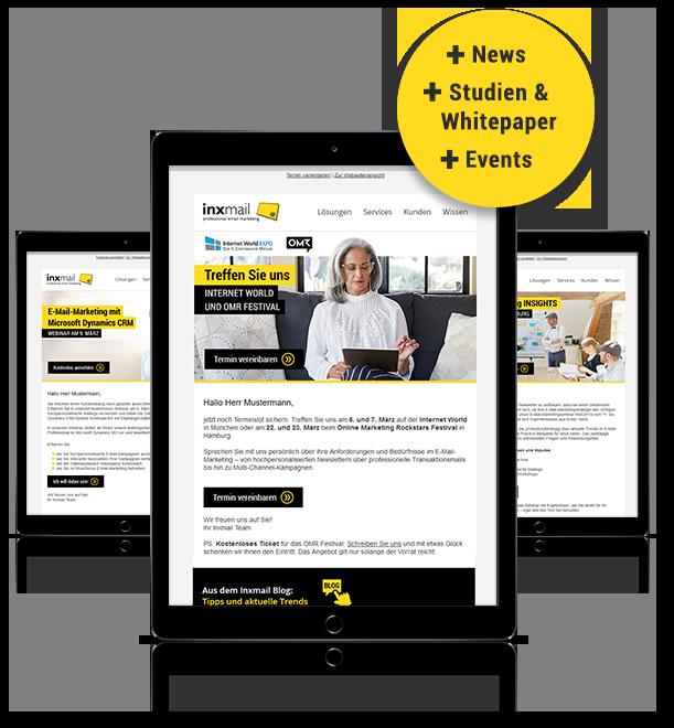 Erfolgreiche Newsletter konzipieren: Aufbau und Struktur - inxmail.de