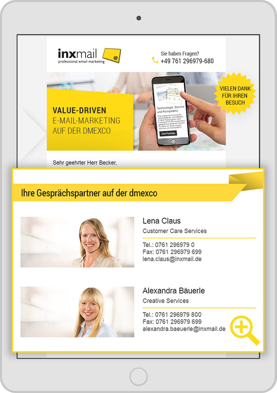 Personalisierung im E-Mail-Marketing bei Kundenmailings